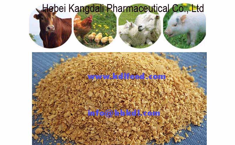 Tourteau de soja préparation des animaux 43% 46%