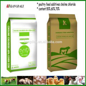 Choline Chloride 50% Silica 60% 70% Corn Cob For Animal Feed Additives